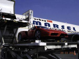 Uluslararası araç taşıma.